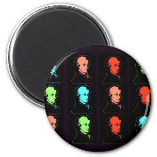 Collage de Wolfgang Amadeus Mozart Magnets Pour Réfrigérateur