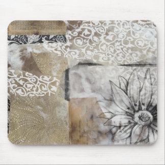 Collage Fleur II Mouse Pad