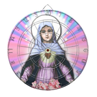 Collage Lady Mary - Gloria Sánchez Dartboard
