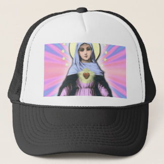 Collage Lady Mary - Gloria Sánchez Trucker Hat