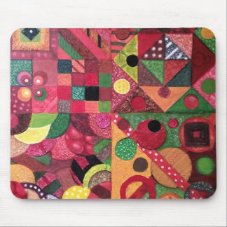Collage Mouse Pad