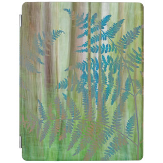 Collage of Bracken Ferns and Forest | Seabeck, WA iPad Cover