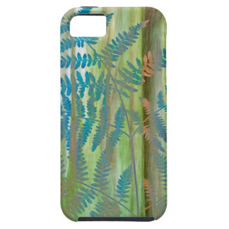 Collage of Bracken Ferns and Forest | Seabeck, WA iPhone 5 Covers