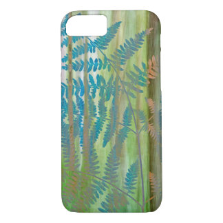 Collage of Bracken Ferns and Forest | Seabeck, WA iPhone 8/7 Case