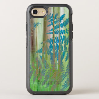 Collage of Bracken Ferns and Forest | Seabeck, WA OtterBox Symmetry iPhone 8/7 Case