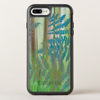 Collage of Bracken Ferns and Forest | Seabeck, WA OtterBox Symmetry iPhone 8 Plus/7 Plus Case