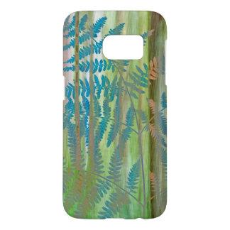 Collage of Bracken Ferns and Forest | Seabeck, WA Samsung Galaxy S7 Case
