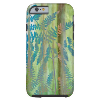 Collage of Bracken Ferns and Forest | Seabeck, WA Tough iPhone 6 Case