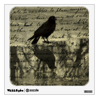 Collage Of Crow Wall Decal