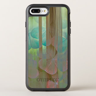Collage of Oxalis and Trees | Seabeck, WA OtterBox Symmetry iPhone 8 Plus/7 Plus Case