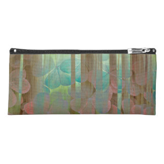 Collage of Oxalis and Trees | Seabeck, WA Pencil Case