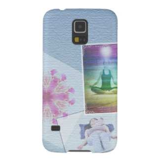 Collage Reiki healers photo board by healing love Galaxy S5 Covers