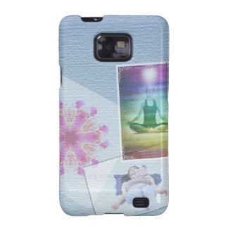 Collage Reiki healers photo board by healing love Galaxy SII Cover