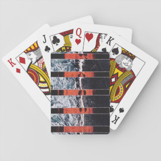 Collage series no. 33 poker deck