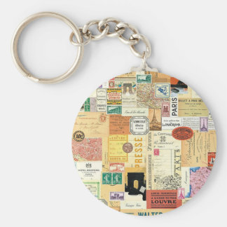 Collage Trips Keychain