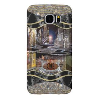 Collap CityScape Monogram Samsung Galaxy S6 Cases