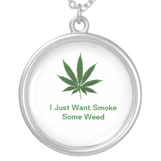 Collar Feasts Cannabis Personalized Necklace