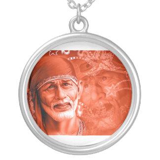 Collar - Shirdi Sai Baba Silver Plated Necklace