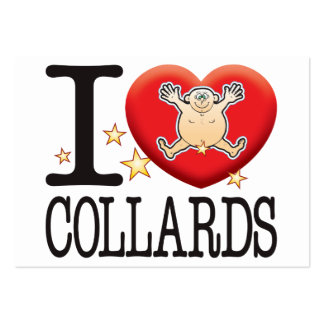 Collards Love Man Pack Of Chubby Business Cards