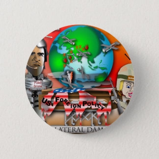 Collateral Damage 2 Inch Round Button