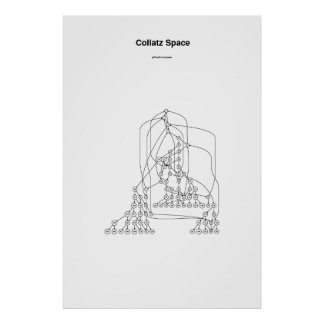 Collatz Space Poster