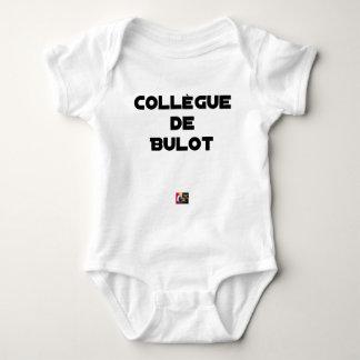COLLEAGUE OF BULOT - Word games - François City Baby Bodysuit