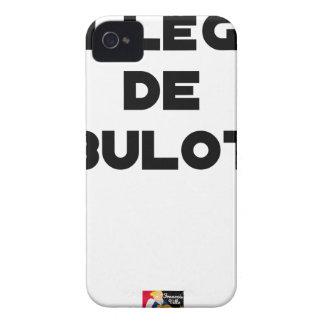 COLLEAGUE OF BULOT - Word games - François City Case-Mate iPhone 4 Case
