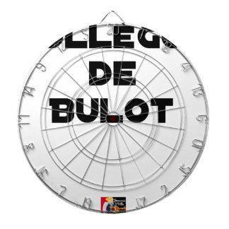 COLLEAGUE OF BULOT - Word games - François City Dartboard