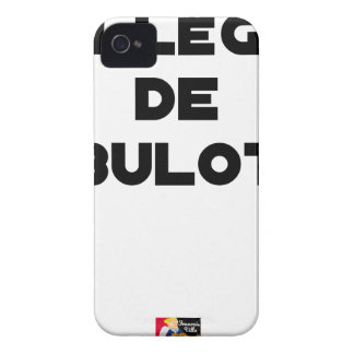 COLLEAGUE OF BULOT - Word games - François City iPhone 4 Case-Mate Cases