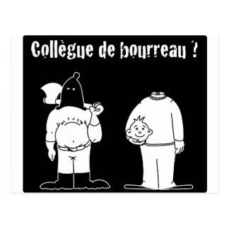 Colleague of Torturer (François City & Gdb Gdblog) Postcard