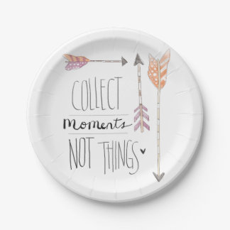 Collect Moments | Change your background color Paper Plate
