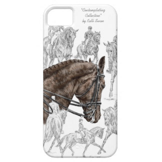 Collected Dressage Horses FEI iPhone 5 Case