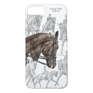 Collected Dressage Horses FEI iPhone 7 Case
