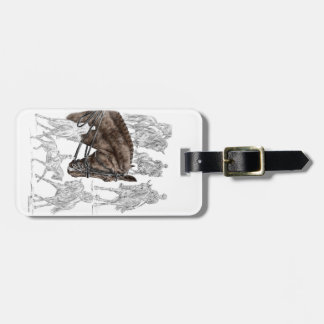 Collected Dressage Horses FEI Luggage Tag