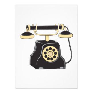 Collecteur antique fait sur commande de téléphone faire-parts