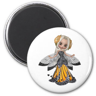 ♥ Collectible Fairy Flower Doll Art ♥ (pixie5) Magnet