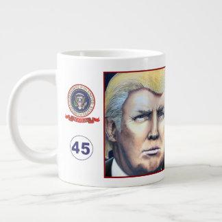 Collectible President Donald Trump Portrait Mug