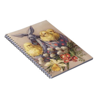 Collecting Easter Chicks Notebook