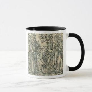 Collecting Herbs for Medicine, 1534 (woodcut) Mug