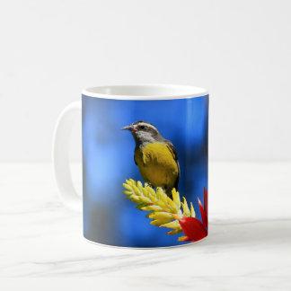 Collection birds of Brazil - Coereba flaveola Coffee Mug