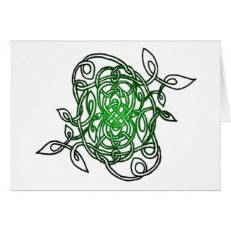 """Collection"" Celtic Knot Card"