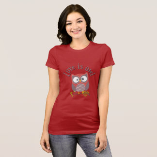 """Collection """"Coils is owl """" T-Shirt"""
