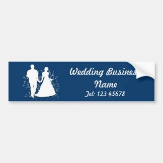 Collection de thème d'affaires de wedding planner autocollant de voiture