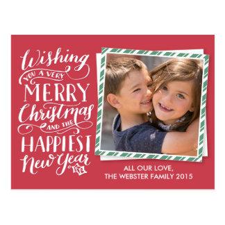 Collection en lettres de Noël Cartes Postales