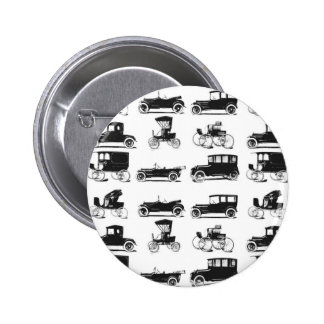Collection of old and classic cars 2 inch round button