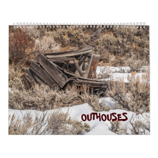 Collection of Outhouses Calendar