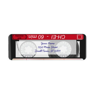 Collection of Retro Audio Cassette Tapes