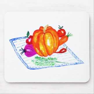 Collection of Vegetables Mouse Pad