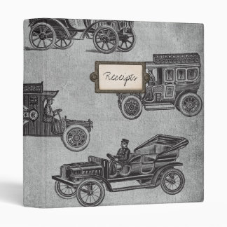 Collection of Vintage Cars Vinyl Binders