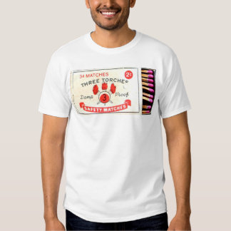 Collection «Safety Matches» - Three Torches Tshirts